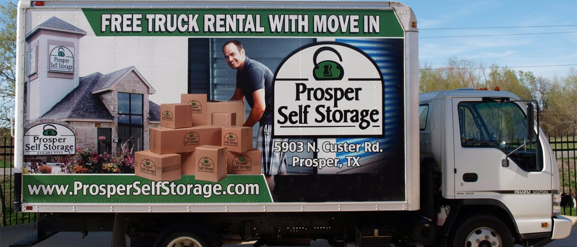 Free Truck Rental with Move-in